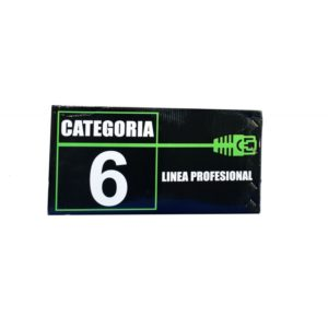 CABLE UTP CATEGORIA 6 (305 MTS) INT.