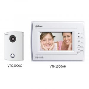 KIT VIDEOPORTERO IP,DH-VTKB-VTO5000C-N-VTH1500AH, dahua