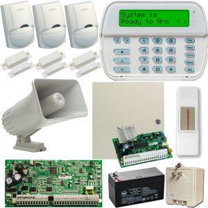 Kit De Alarma – Alambrico De 3 Sensores Power Series Dsc