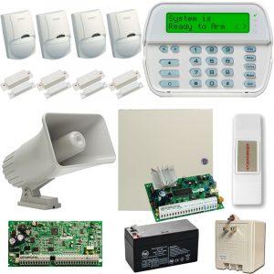 Kit De Alarma-alambrico C/ 4 Sensores Dscpower Series 16-64z