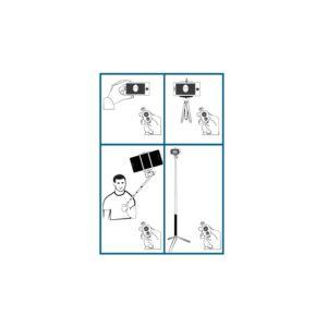 Palo Selfie Tripode, Control Bluetooth, Soporte , Baston K.Xim