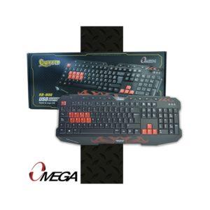 Teclado Gamer Con Iluminacion Led KB-801 Chaos Omega Multimedia