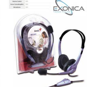 Audifonos Para Computador Pc Genius Hs-04s Con Microfono