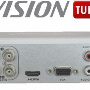 Mini Dvr de 4 Canales de 2 Megapixel 1080p Hikvision