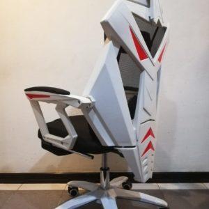 Silla Gamer Pro Gaming Reclinable Giratoria Ranger Blanco JYX0213