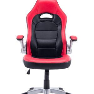 Silla Gamer Gaming Cuerina Reclinable Ergonomica Comoda Roja LK-2149