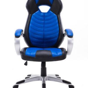 Silla Gamer Pro Gaming Escritorio Oficina Giratoria Azul LK-2150