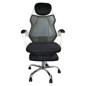 Silla Fashion Reclinable Con Portapies Descansable Gerencial JYX0160