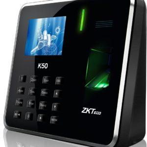 control de acceso biometrico k50
