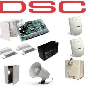 Kit De Alarma Dsc De 2 Sensores + 2 Contactos Magneticos