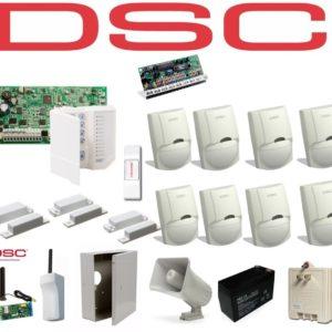 Kit De Alarma Dsc De 8 Sensores + 3 Contactos Magneticos