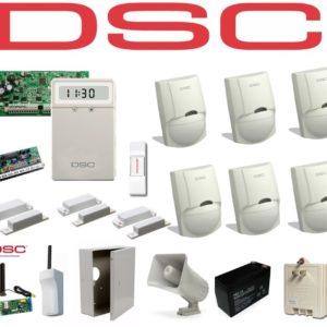 Kit De Alarma Dsc De 6 Sensores + 3 Contactos Magnetico