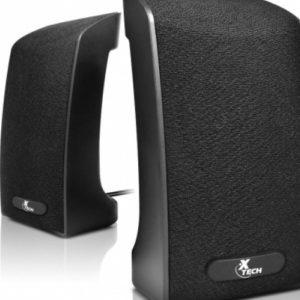 Parlantes Para Pc, 4 Watts, 2.0 Usb – Xtech Xts120 Negro