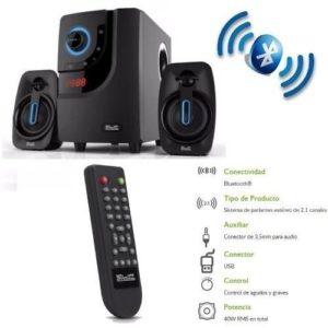 Parlantes Para Tv Klip Xtreme Nfc Bluetooth 40 Wats Usb 3.5m
