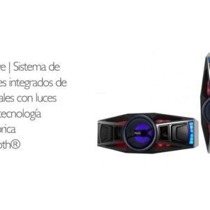 Sistema De Parlantes 2.1 Tecnología Inalámbrica Bluetooth