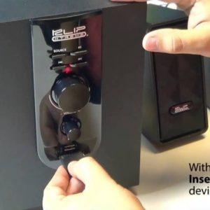 Teatro En Casa Parlantes Klip Xtreme 20watts Usb Micro Sd