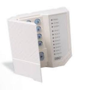 Kit De Alarma Dsc De 2 Sensores + 2 Contactos +panel De 4