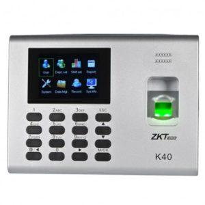 Biometrico Para Control De Personal K40 Zkteco