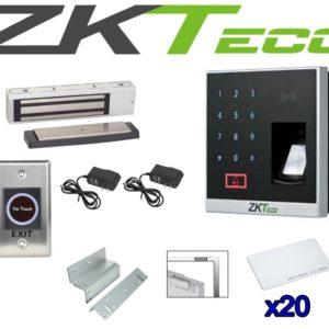 Kit De Control Acceso Y Asistencia Con App Brazo Hidraulico