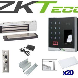 Kit De Control De Acceso Y Asistencia Boton Electroiman App