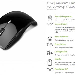 Mouse Óptico Inalambrico Marca Klip Xtreme Kmo-375bk