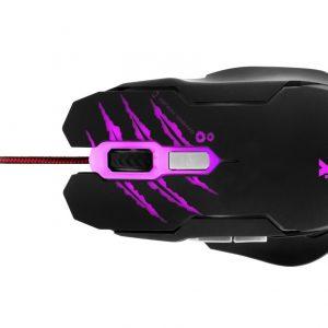 Mouse Tipo Gamer 6 Botones 3200dpi Marca Xtm