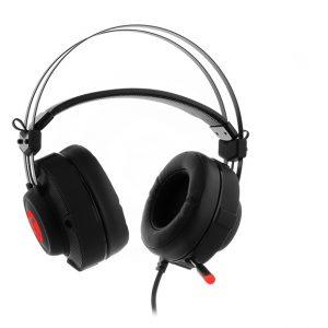 Audifonos Diadema Tipo Gamer Color Rojo – Negro Primus