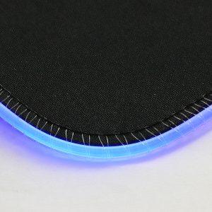 Pad Mouse Con Iluminación Led De 7 Colores