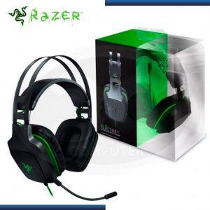 Diadema Tipo Gamer Con Microfono Razer Color Verde Con Negro