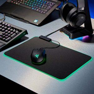 Pad Mouse Gamer Retroiluminado Verde Razer