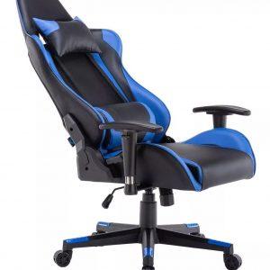 Silla Gamer Rangers Reclinable Giratoria Oficina azul Lk-2172